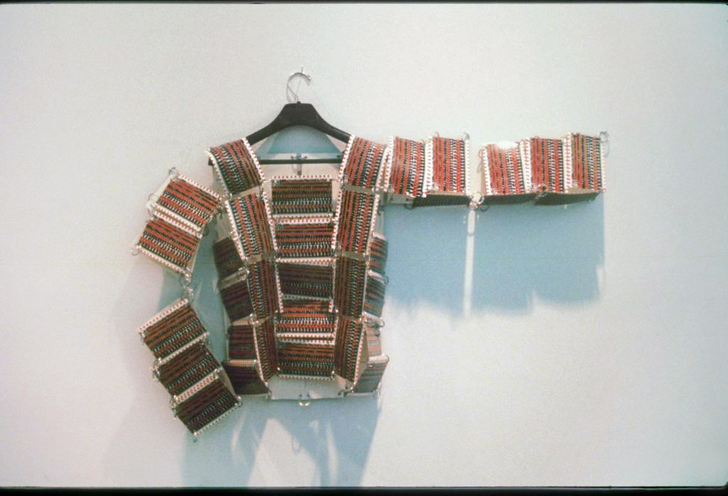 Life Jacket: Object built with postcards